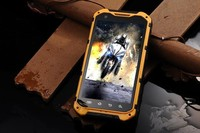 2014 Dual SIM Cards IP67 Waterproof Smartphone A9 Quad Core MTK6589T