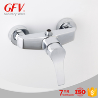 Best seller LT-LY004 brass chrome bathroom shower mixer faucet
