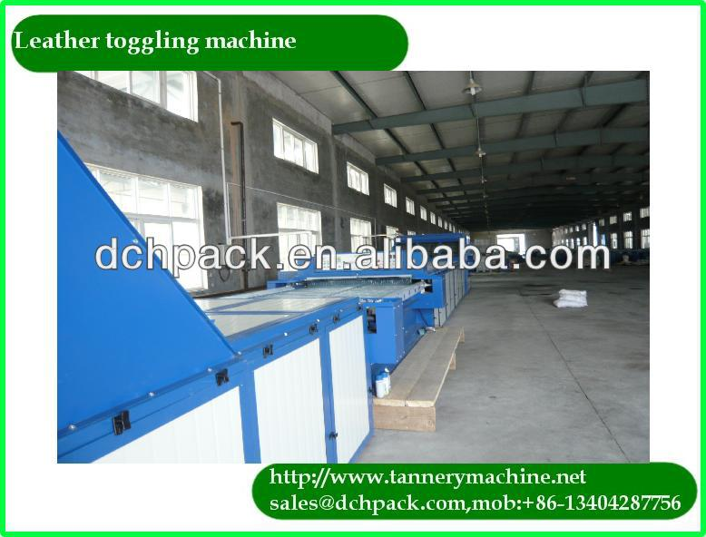 China leather tanning stretch equipment