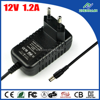 CE KC Approval DC Power Supply 12V 1.2A Universal Adapter For Xbox 360