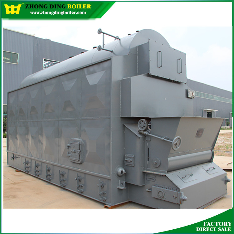 moving chain grate coal fired steam boiler for petroleum refinery