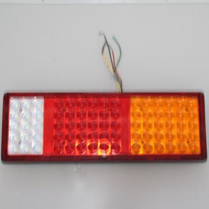 Waterproof LED truck light 24V square White/blue/red/yellow led work light