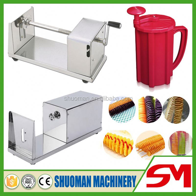 2016 new type artistic multifunctional tri blade spiral slicer