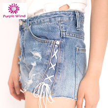 2017 hot style supplier new brand sexy girls tight shorts jeans