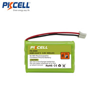 PK-0089 Ni-mh Battery Pack AAA 600mAh 3.6V Rechargeable Cordless phone battery pack