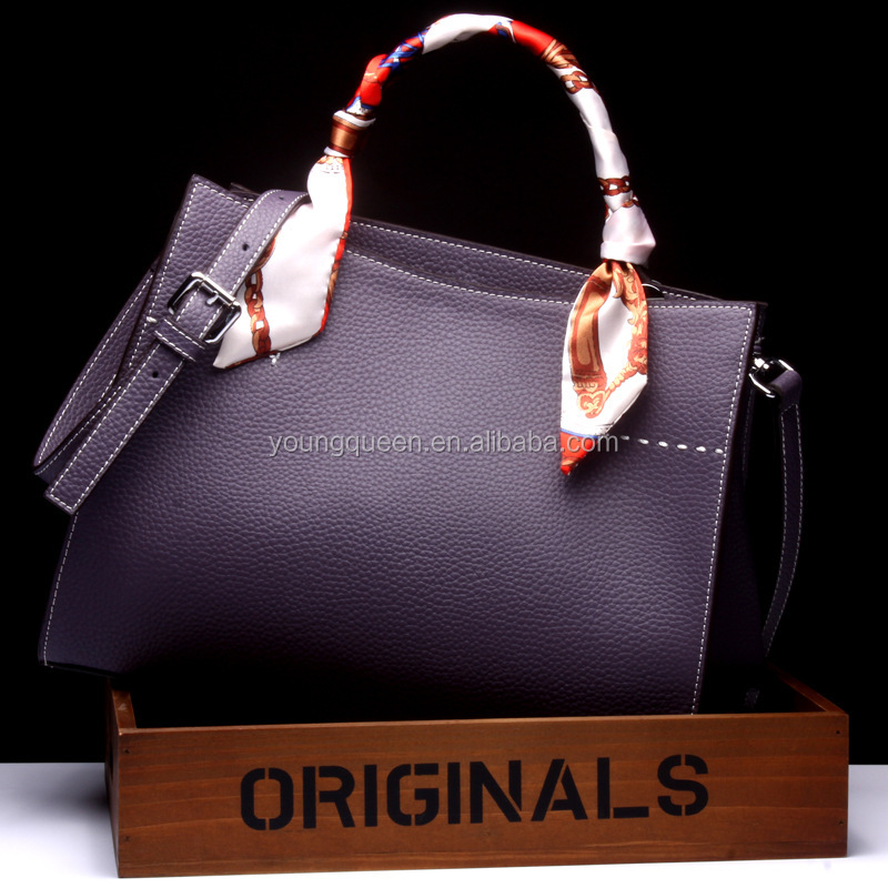 GL19-1 2016 new fashion platinum leather <strong>handbag</strong> shoulder diagonal <strong>handbags</strong>