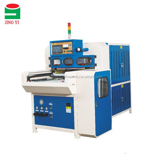 New JingYi Machine PU Leather Shoes High Frequency Welding Machine(JY-8000QHZD-R)