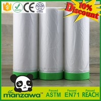 Hot selling automotive auto paint masking plastic film