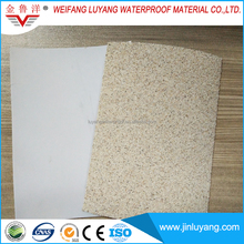 factory supply Top quality white HDPE waterproof membrane with sand surface