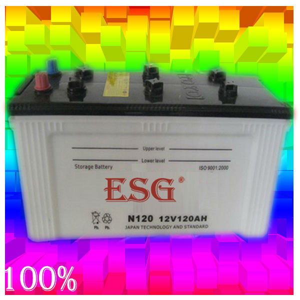 start/lead acid battery/ automobile battery/ DRY N120 12V120AH
