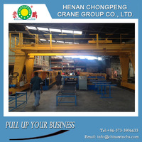 Good price compact structure 10 ton small gantry crane indoor used