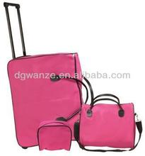 abs hard cover luggage 2014 hot selling super light ABS trolley bag