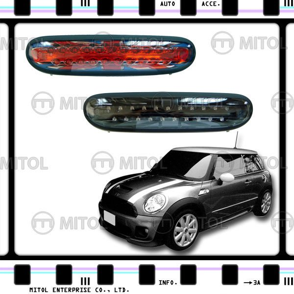LED Fog Light Fog Lamp For Mini Cooper R56 07-on