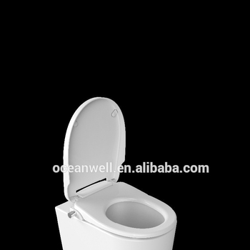 Soft close duroplast non electric bidet, easy for your bathroom experience