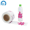 Waterproof Printed Custom Industrial products Roll label,adhesive Hand wash bottle labels