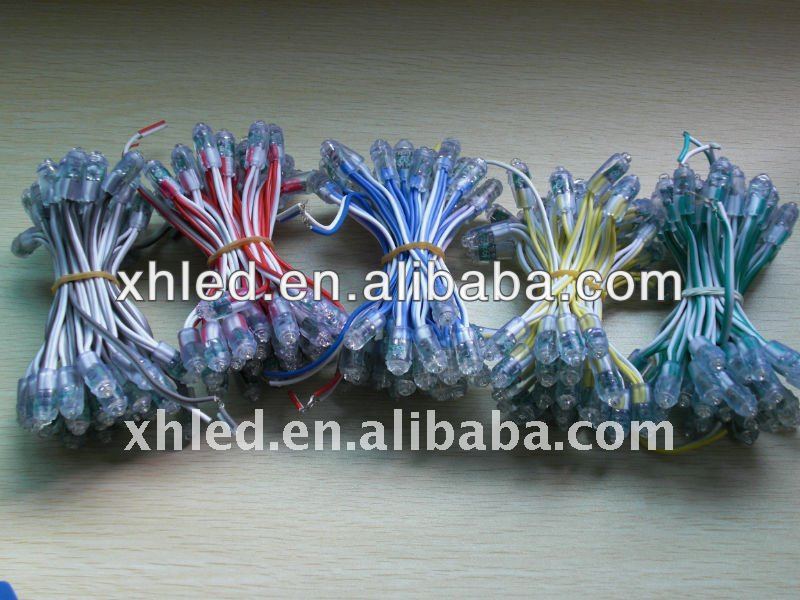5-8mm led through hole--- red/green/blue/white/black