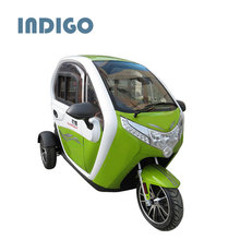 3 wheel enclosed tricycle for adults electric pedicab