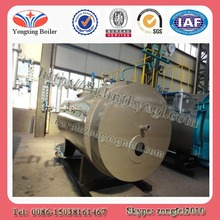 Horizontal type fire tube automatically natural gas or diesel fired boiler stove