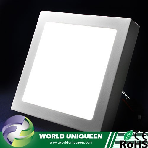 18w Panel Light AC85-265V Color White/Warm White 90pcs SMD 2835 Surface Mounted LED Panel Light