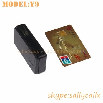 long battery life Real-Time credit card size gps tracker y906 standby for one year