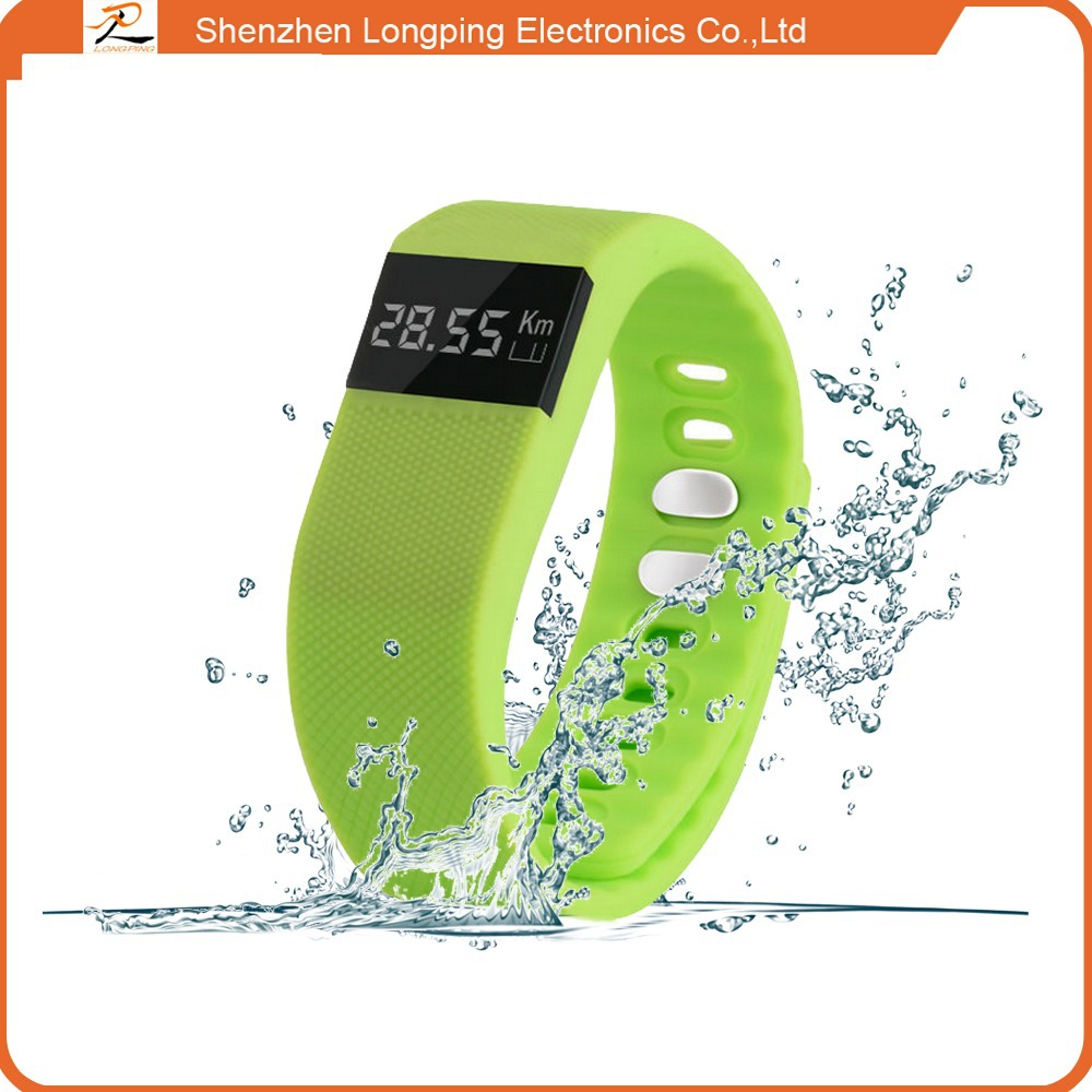 smart bracelet 2015 new hot selling factory TW 64 with multi-colored smart wrist band