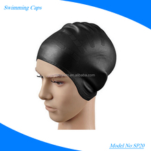 Customized Waterproof ear protection silicone swimming caps