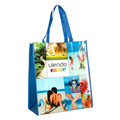 Custom new design recycled eco friendly pp non woven promotion shopping bag