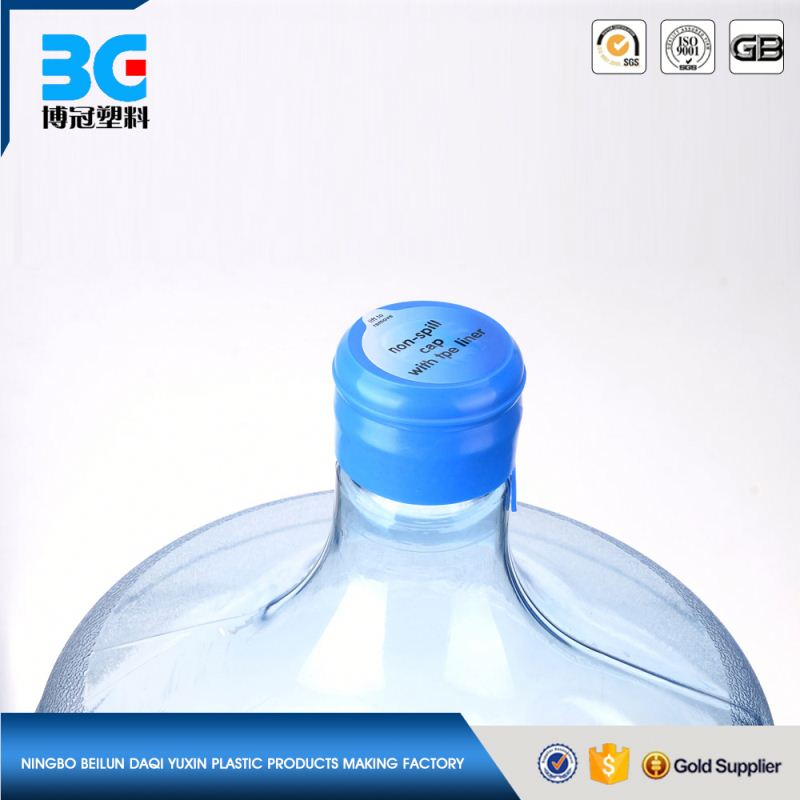 10 liter PET plastic gourd-shaped bottle with screw cap and on/off tap for drinking water