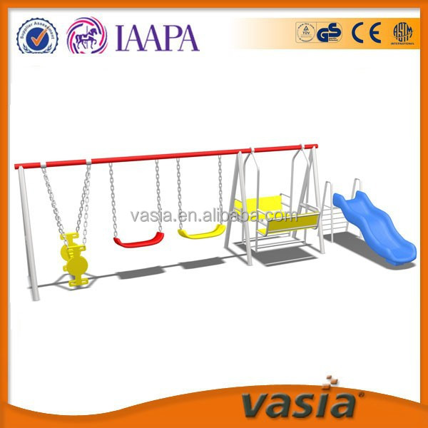 Plastic Functional hanging Swing&Slide outdoor park
