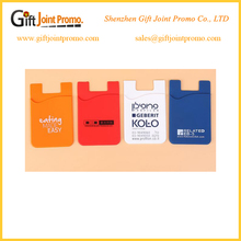 Adhesive 3M Cell phone Credit Card Holder For IPhone Case