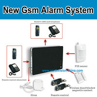 Alarm home gsm with long time battery working hours