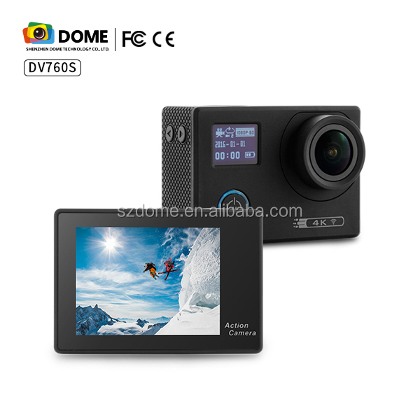 High quality with low price 4K 2160P OEM&ODM sport camera with 12M real pixel