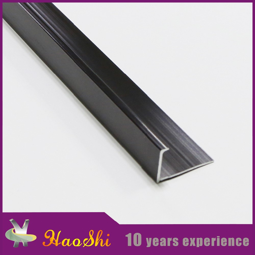 Gold sellers on Alibaba website hot sale product aluminum l shape metal tile trim