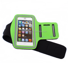 Personalized adjustable waterproof smartphone armband case
