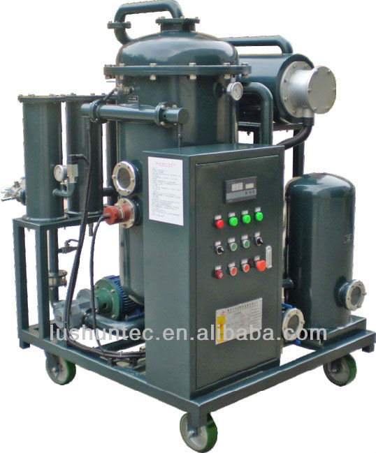 lube oil filtration system/ lube oil recycling machine