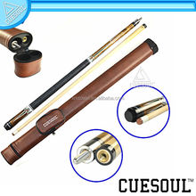 CUESOUL Excellent 1/2 Joint Pool Cue with Canister, amazing quality at unbelievable low price