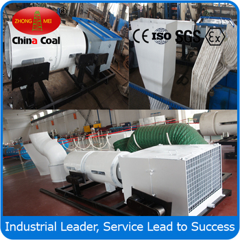 Underground mine dust removal system with full hydraulic floating type extensible belt conveyor rear part