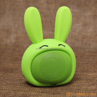 2016 Christmas Bluetooth Mini Speaker Cable Free in Open-mouthed LOL Rabbit Design