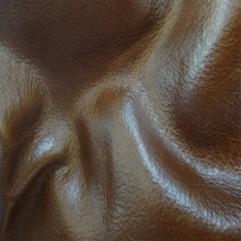 Genuine cow skin leather material for sofa furniture Oil waxy pull up leather for upholstery