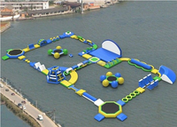 Giant Water Sport Float,Inflatable Floating Water Park,Aqua Water Playground