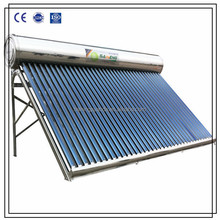 Stainless Steel Integrated Non pressurized solar water heater