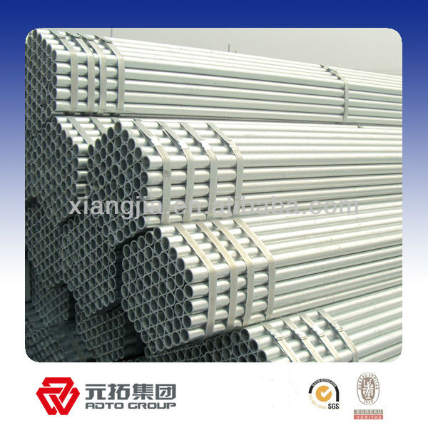 Hot selled! Manufacturer E-galvanized steel scaffolding tube