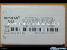 China factory price mobile phone battery BLB-2 3.7V 1000mah for Nokia 3610/5210/6500/6510/7150/7650/8210/8250/8310/8850/8850