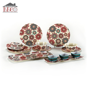 Creative fashion design unbreakable melamine tableware