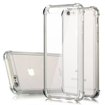 case for iphone 7, Transparent Clear TPU Shockproof Bumper Back Case Cover For iphone 7 7plus