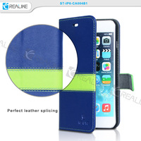 Strong magnetic book style leather case cover wallet phone case for iphone 6s