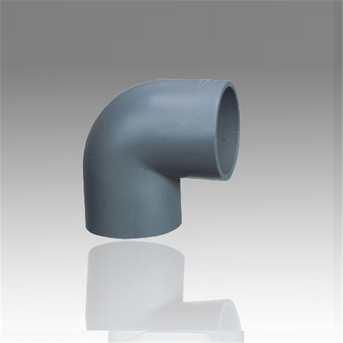 Supplying high quality Cheap Wholesale pvc pipe fitting 90 degree elbow sch40