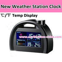 Ultronic weather station clock with LED back light