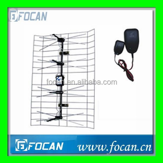 Active 4Way with Net HDTV UHF Amplified Antenna 470-862MHz