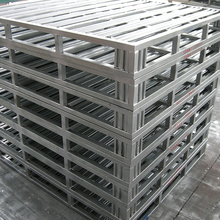 Industriale Blocco Standard Stack ble Pallet In Acciaio